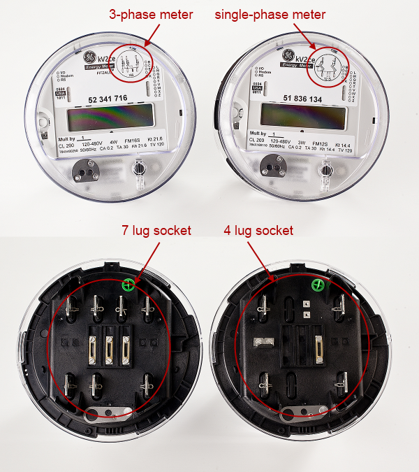 Three Phase Electricity Meter : Monitoring to ge kv c meters